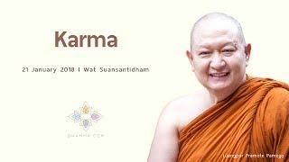 """Karma"", Venerable Pramote, Dhamma Talk (English Subtitle)"