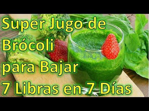 Dieta del brocoli para adelgazar