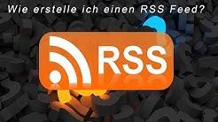 Wie erstelle ich einen RSS Feed? | RSS Feed | DavidsProTv