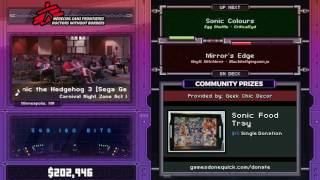 Sonic Colours by CriticalCyd in 50:10 - SGDQ2017 - Part 27