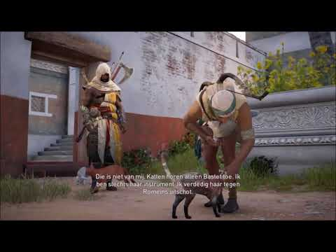 Assassin's Creed Origins PS4 Secundair: Kat in de zak