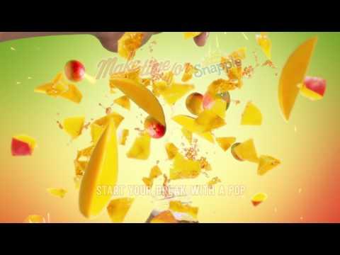 Snapple - Mango Flavor Explosion (0:15)