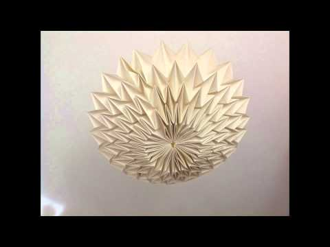 Homemade Origami lamps