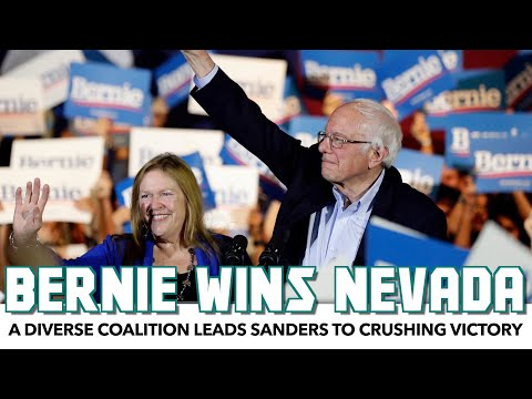 Bernie Sanders Wins BIG In Nevada