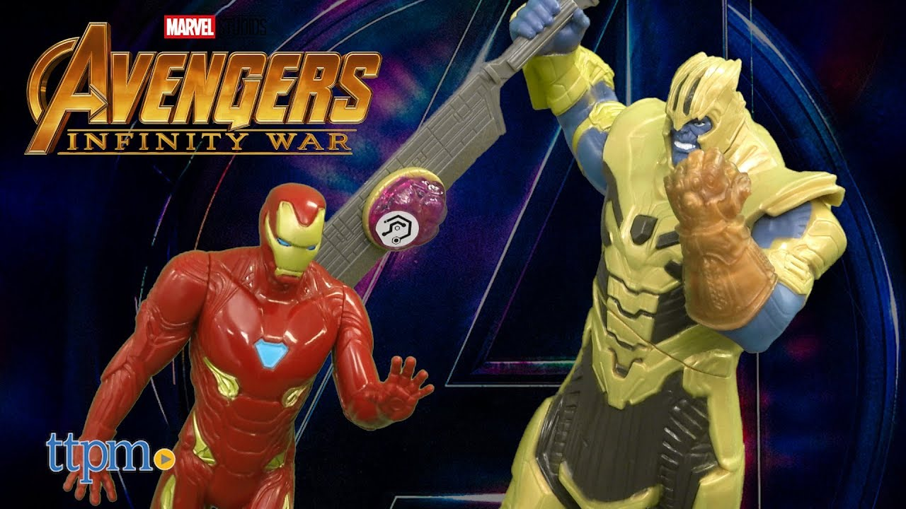 Avengers  Infinity War Iron Man vs. Thanos Battle Set from Hasbro ... f3327e819ee