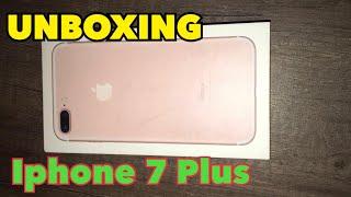 UNBOXING IPHONE 7 PLUS