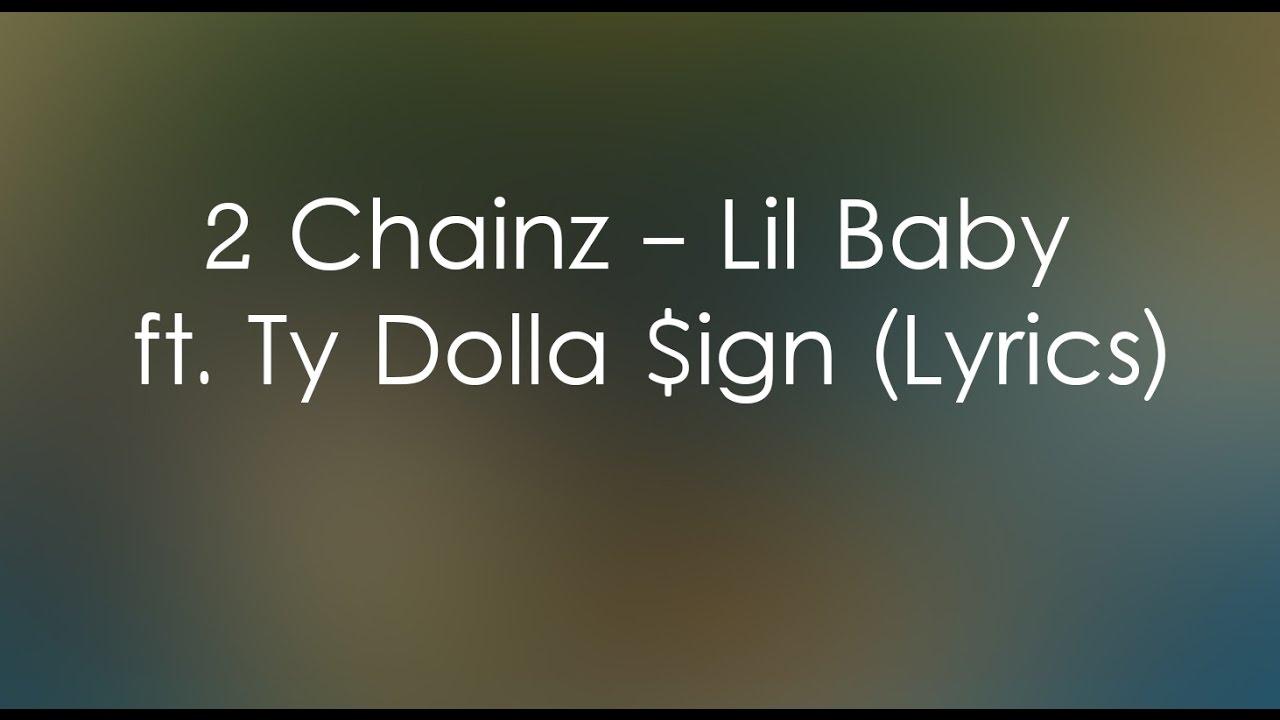 2 Chainz - Lil Baby ft. Ty Dolla $ign (Lyrics) - YouTube