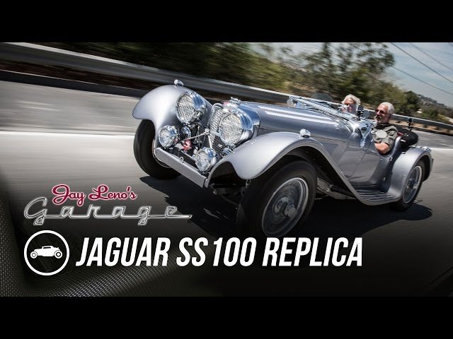 1937 Jaguar SS100 Replica - Jay Leno's Garage