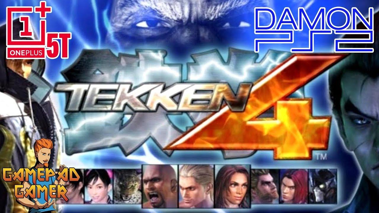 Tekken 4 ps2 emulator keyboard and controller configuration for pc.