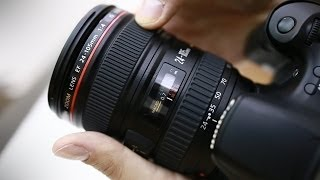 Canon 24-105mm f/4 IS USM 'L' lens review (APS-C & full frame) ...with samples