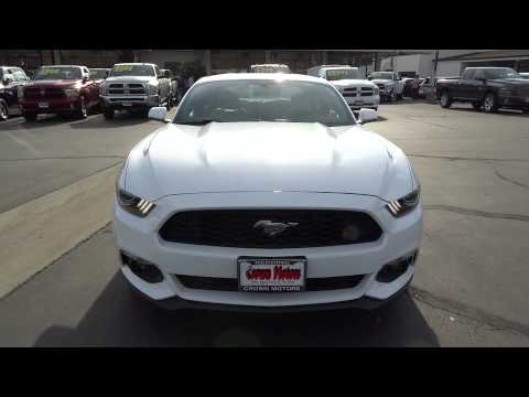 2015 ford mustang redding eureka red bluff northern for Crown motors redding ford