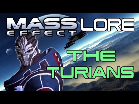 Mass Effect Lore - The Turians