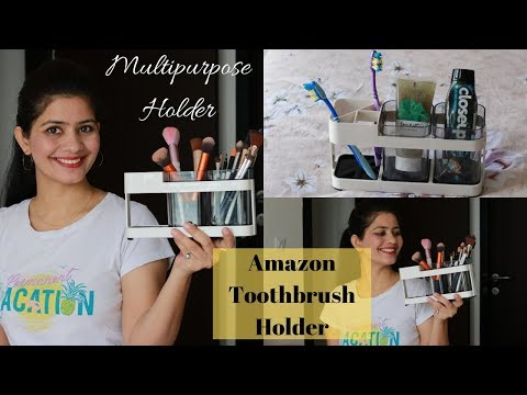 Amazing Organizing Product from Amazon | Toothbrush /Makeup Brushes Holder | Complete Review |Amazon