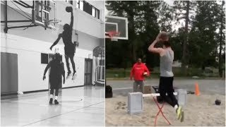 russell-westbrook-zach-lavine-throwing-down-dunks-with-their-dads-on-father-s-day