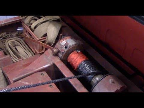 AUXMART WINCH LINE INSTALL by BSF Recovery Team
