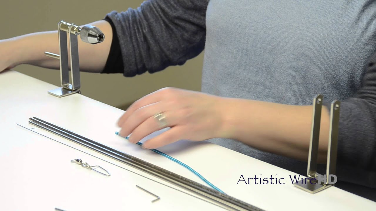 Artistic Wire - Professional Deluxe Coiling Gizmo - YouTube