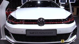 2018 Volkswagen Golf GTI Performance - Exterior and Interior Walkaround  2018 Geneva Motor Show