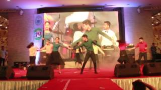 Salsa  Dance performance By NSUIBC