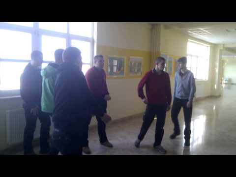 Sarajevo college fighting in canteen