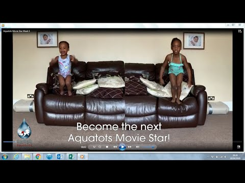 The Aquatots Lockdown Home Challenge | Aquatots Practice at Home Challenge Week 4
