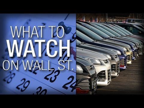 What to Watch: Wall Street Awaiting Earnings, Car Sales, July Jobs Report