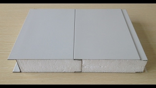 видео Сэндвич-панели из пенополиуретана (ППУ)