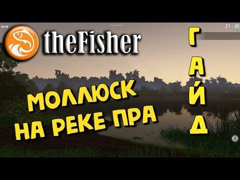 The Fisher Online - МОЛЛЮСК на реке ПРА