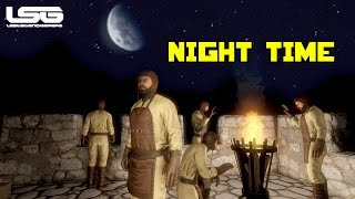 Medieval Engineers - Rope Tension & Night Time