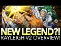 NEW LEGEND RAYLEIGH V2 OVERVIEW! (One Piece Treasure Cruise)