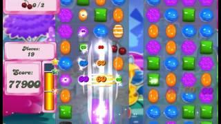 Candy Crush Saga Level 1240 - 3 Stars 206,560 - No Boosts