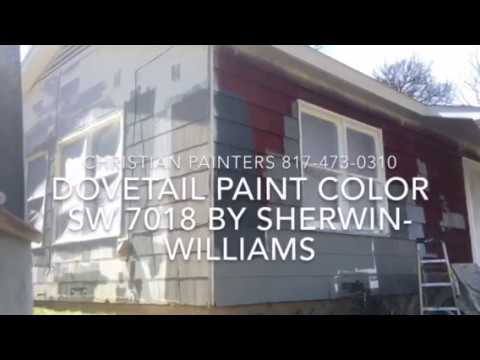 Dovetail paint color sw 7018 by sherwin williams exterior - Try out exterior paint colors online ...