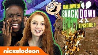 How To Make Loud House-Inspired Giant Chocolate Bar 🍫 Halloween Snackdown Ep. 1 | Nick