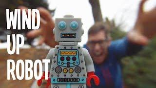 Recess Monkey -  Wind-Up Robot Video