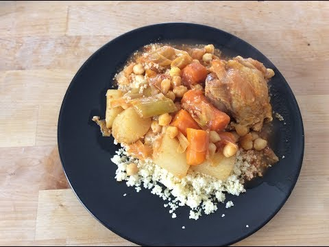 (recette-cookeo)-couscous-facile