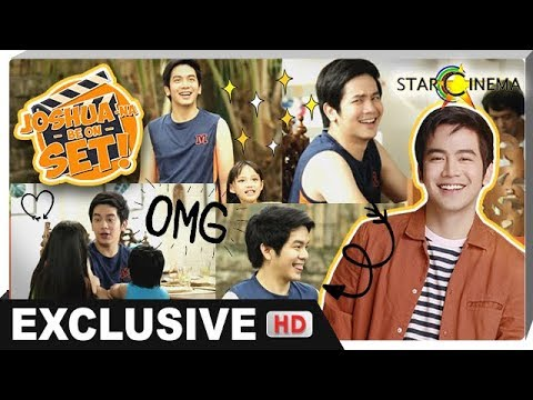 JOSHUA-NA BE ON SET of 'I Love You, Hater' with Joshua Garcia