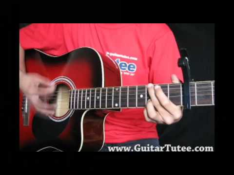 Taylor Swift - White Horse, by www.GuitarTutee.com