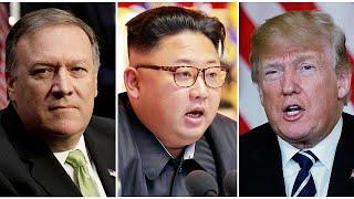 CIA Başkanı Pompeo doğrudan temaslar için Kuzey Kore'ye gitti Video