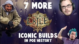 7 MORE ICONIC BUILDS in PoE History! (2011-2018)
