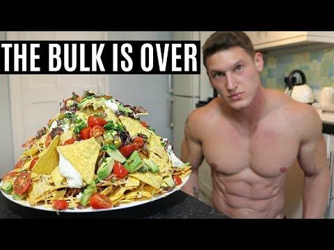 THE END OF THE BULK  IIFYM Full Day of Eating