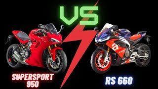 SuperSport 950 Vs RS 660 - 2021's HOTTEST Middleweight Sportbikes