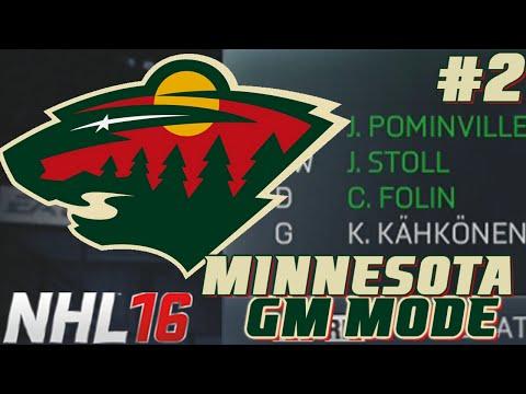 Season Start – NHL Legacy – GM Mode Commentary – Minnesota ep. 2