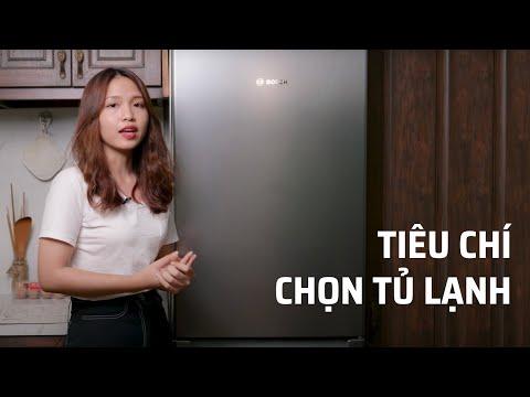 Chia sẻ những tiêu chí khi chọn tủ lạnh