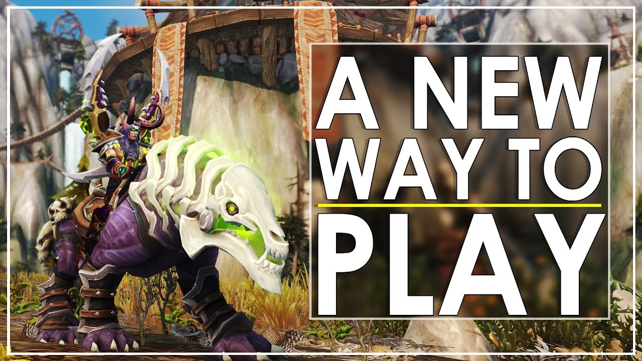 A New Way To Play World of Warcraft That Feels Like