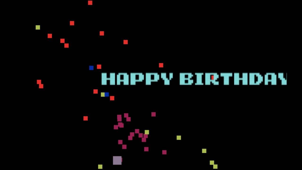 Happy Birthday Generator Sample