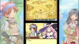 Rune Factory 2: A Fantasy Harvest Moon (DS) - Gameplay Trailer