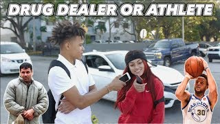 WOULD YOU WANT A RICH DRUG DEALER OR BROKE ATHLETE ? | PUBLIC INTERVIEW (HIGH SCHOOL EDITION📚)