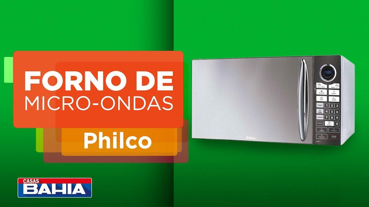 8a97cb93d Confira o forno de Micro-ondas Philco