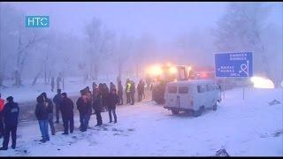 Бишкек-Дача-Су Авиакырсык болгон жерден ТҮЗ алып көрсөтүү // НТС // 16.01.17