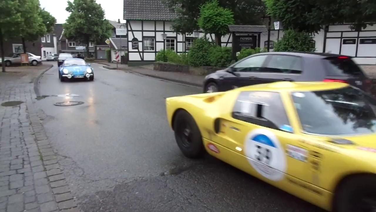 Ford GT40 und Renault Alpine A110 , brachialer Sound im Rahmen der ...