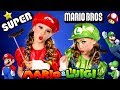 Mario and Luigi Makeup and Costumes From Super Mario Bros!